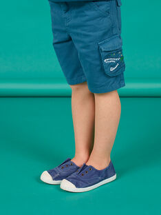 Bermuda blu bambino LOVERBER4 / 21S902Q5BER715