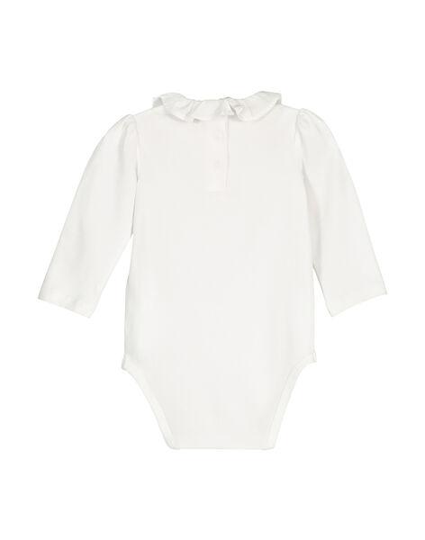 Body maniche lunghe neonata FOU1BOD8 / 19SF051EBOD000