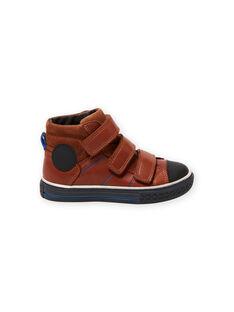 Sneakers alte cammello bambino MOBASTRIVTAN / 21XK3652D3F804