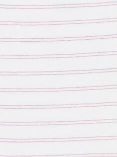 Set 3 slip rosa, bianco e rosso bambina LEFALOTFRU / 21SH1127D5LF506
