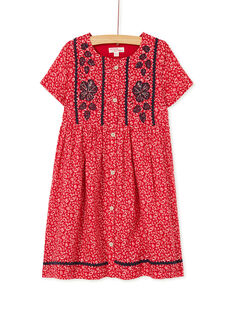 Dark orange DRESS KABRIROB4 / 20W901F1ROB408