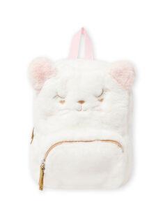 Zaino gatto rosa in finta pelliccia neonata MYICLASAC / 21WI09G1BES001