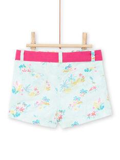 Shorts blu neonata LIVERSHO / 21SG09Q1SHOG622