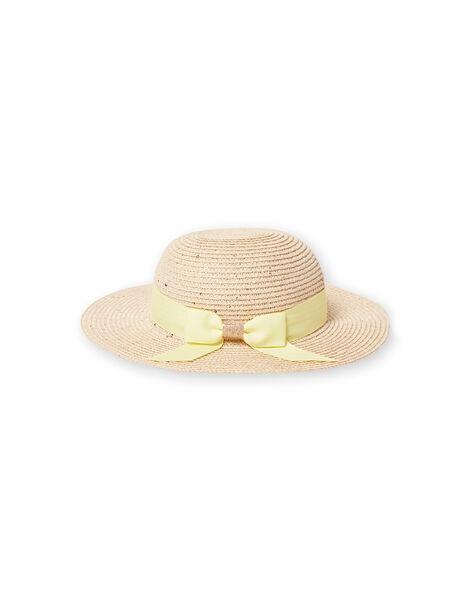 Cappello di paglia bambina LYAJAUHAT / 21SI01O1CHA009