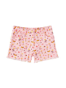 Shorts con stampa animali e palme JADUSHORT1 / 20S901O1SHO321
