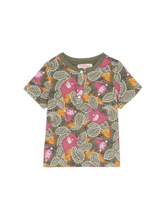 T-Shirt Maniche Corte Kaki JUDUTUN / 20SG10O3TMC609