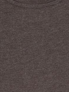 T- shirt Maniche Lunghe Antracite Melange GOJOTICHI4 / 19W902L2D32J921