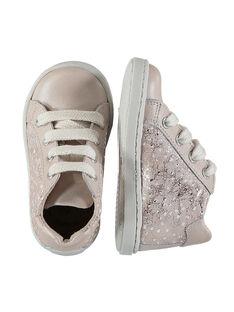 Sneakers pelle neonata FBFBASLIS / 19SK3742D3F030
