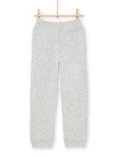 Pantaloni sportivi - bambino - grigio melange LOJOJOB2 / 21S90241JGBJ922