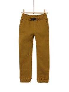 Brown PANTS KOGOPAN2 / 20W902L1PANI812