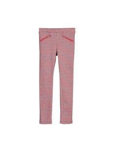 Pantaloni punto Milano jacquard bambina FACOPANT / 19S90181PAN099