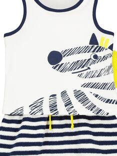Completo canottiera e shorts neonato FUPLAENS2 / 19SG10P2ENS000