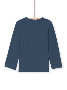 T-shirt navy bambino MOCOTEE3 / 21W902L2TMLC202