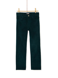 Green PANTS KOJOPAVEL2 / 20W90252D2BG614