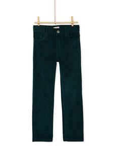 Green PANTS KOJOPAVEL2 / 20W90252D2BG614