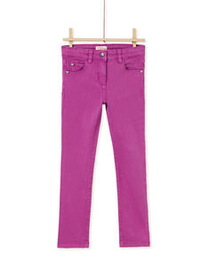 Purple PANTS KAJOPANT2 / 20W90132D2BH704