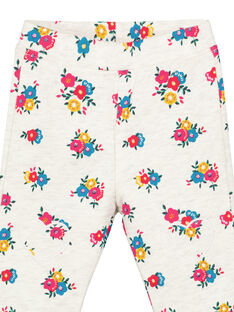 Heathered off white pants GIMUBAJOG / 19WG09F1PAN006