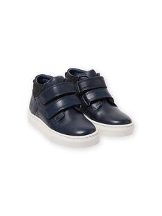 Sneakers alte navy bambino MOBASGO / 21XK3654D3F070