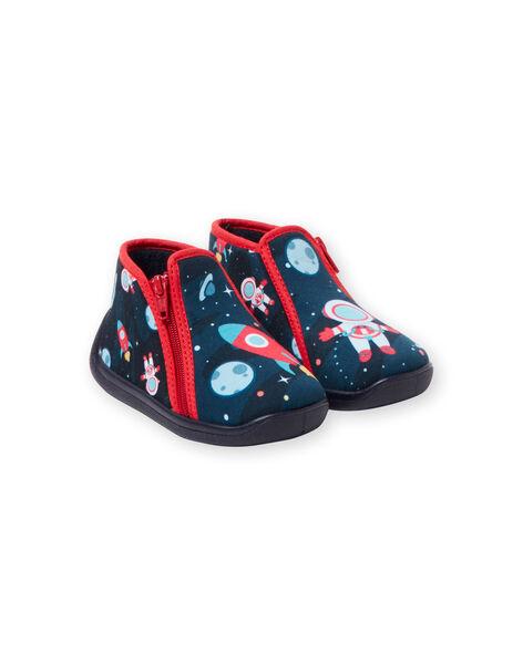 Pantofole navy neonato KBGBOTCOSM / 20XK3811D0A070