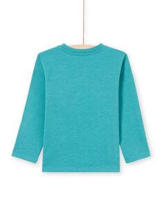 T shirt turchese motivo fantasia bambino MOTUTEE5 / 21W902K2TMLC239