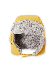 Straw yellow CAP KYOLUCHA / 20WI02P1BON104