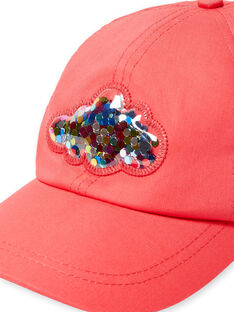 Cappellino rosso bambina LYAHACAP / 21SI01X1CHAF506