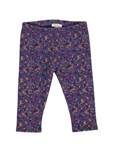 Baby girls' fleece trousers DIVIOPAN2 / 18WG09H2PAN099