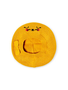Golden yellow CAP LYINAUBON / 21SI09L1BON106
