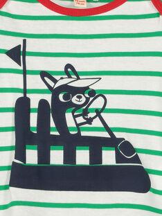 T-shirt maniche lunghe neonato FUCOTEE3 / 19SG1083TML099