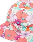 Cappello da pioggia con stampa a fiori neonata LYIVICHA / 21SI09U1CHA000