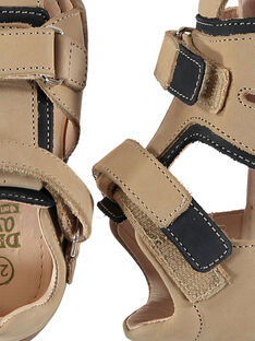 Sandali da città pelle neonato FBGSANDHER / 19SK38C3D0E080