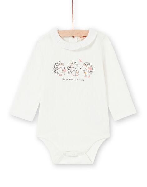 Body bianco con colletto neonata LIPOEBOD / 21SG09Y1BOD001