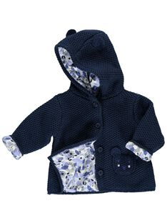 Baby girls' hooded jacket CIKLEVESTE / 18SG09D1VES070