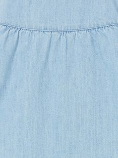 Giacca in jeans blu neonata LICANVEST / 21SG09R1VESP272