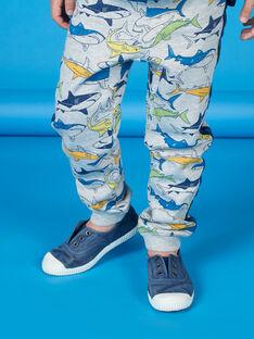 Pantaloni sportivi grigi bambino LONAUJOG2 / 21S902P1JGBJ922