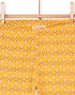 Leggings gialli bambina LYAPOELEG / 21SI01Y1CAL107