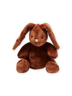 Peluche coniglietto marrone nascita unisex MOU1DOU3 / 21WF4244JOUI810