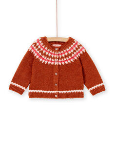 Brown CARDIGAN KISACAR / 20WG09O1CAR817