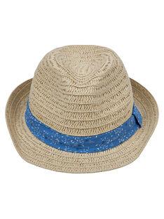 Cappello di paglia bambino + fascia con motivo JYOSOCHAP1 / 20SI0281CHA000