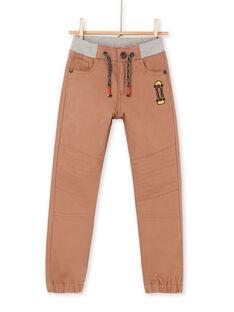 Pantaloni marrone chiaro - Bambino LOPOEPAN1 / 21S902Y1PANI802
