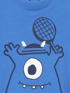 T-shirt maniche corte neonato FUJOTI4 / 19SG1034TMC201