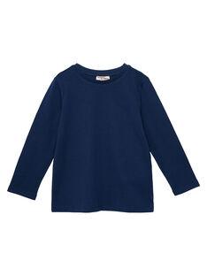 T-shirt maniche lunghe bambino navy JOESTEE2 / 20S90263D32070