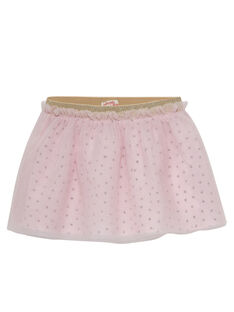 Gonna in tulle rosa chiaro neonata JIPOEJU / 20SG09G1JUP301