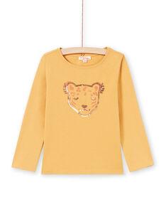 T-shirt arancione bambina MAJOYTEE5 / 21W90125TMLB106