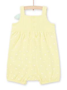 Tutina gialla neonata LEFIGRECIT / 21SH13C5GRE116