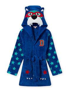 Vestaglia blu motivi orsetti bambino MEGOROBOURS / 21WH1281RDC702