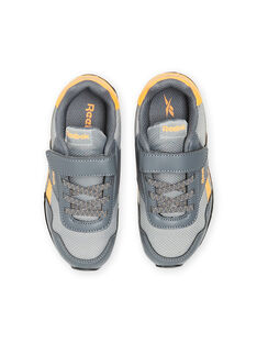 Sneakers Reebok grigie con dettagli gialli bambino MOG58315 / 21XK3643D36940