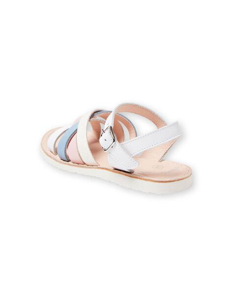 Sandali bianchi bambina LFSANDCLAIRE / 21KK355KD0E000