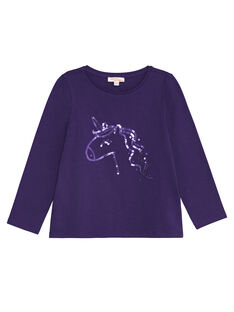 Purple LONGSLEEVE T-SHIRT KAJOTEE4 / 20W90132D32711