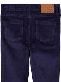 Pantaloni in velluto liscio GATRIPANT / 19W901J1PAN070